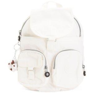 Kipling Lovebug Nylon Backpack With Furry Monkey